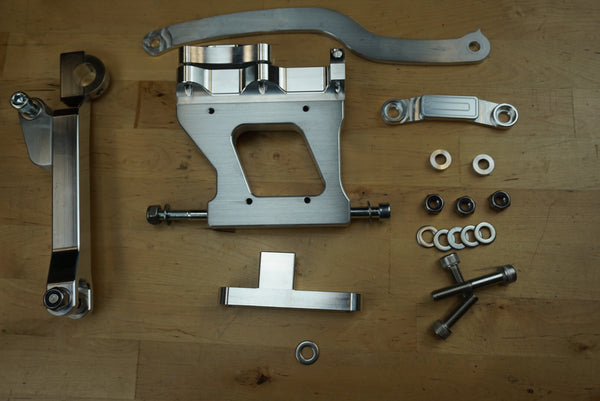 Honda Ruckus Wide tire GY6 engine mount
