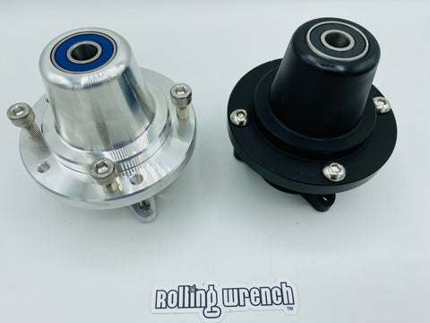 Ruckus custom wheel front hub 4/90