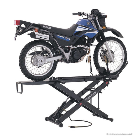 Stand up motorcycle lift by kendon