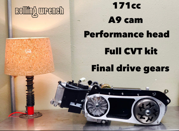 171cc GY6 drop in crate engine