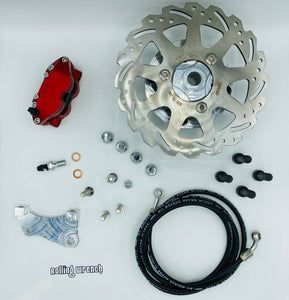 Rolling Wrench GY6 rear disk brake kit