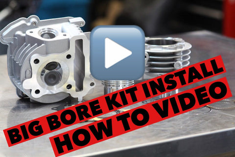 How to install a big bore kit HD VIDEO