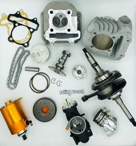 GY6 190cc big bore kit proper package