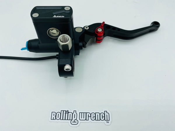Billet master cylinder and perch kit