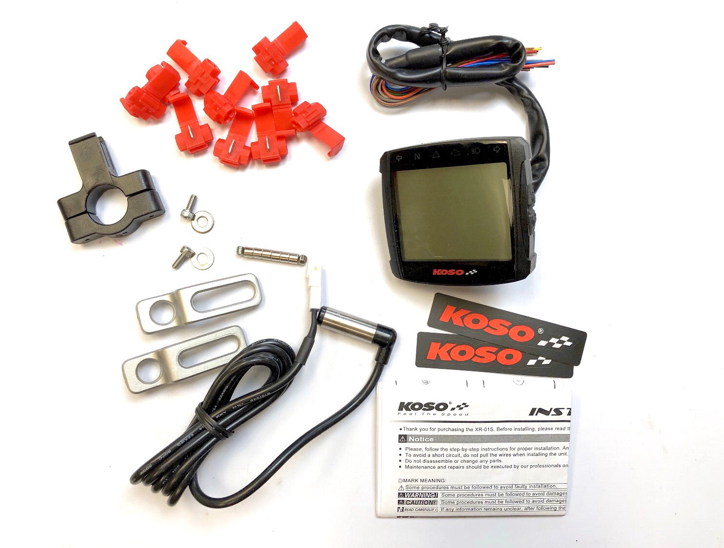scooter digital gauge speedometer [koso]