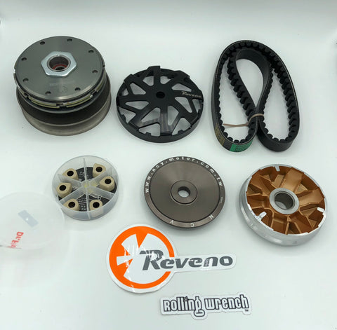 The ultimate Honda Ruckus 50 CVT Kit [REVENO CLUTCH]