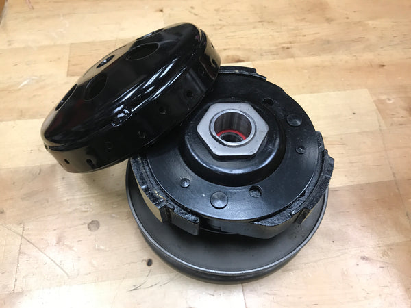 GY6 complete performance clutch and clutch bell