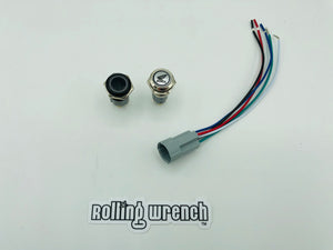 16mm wire it your self button