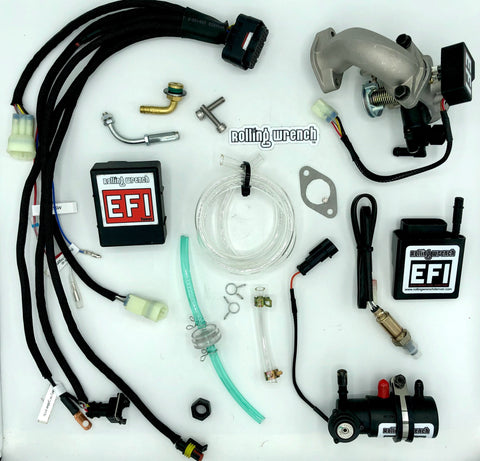 Rolling Wrench GY6 Plug & Play EFI kit
