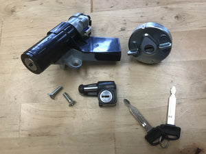 Honda Ruckus key, ignition, and helmet lock set