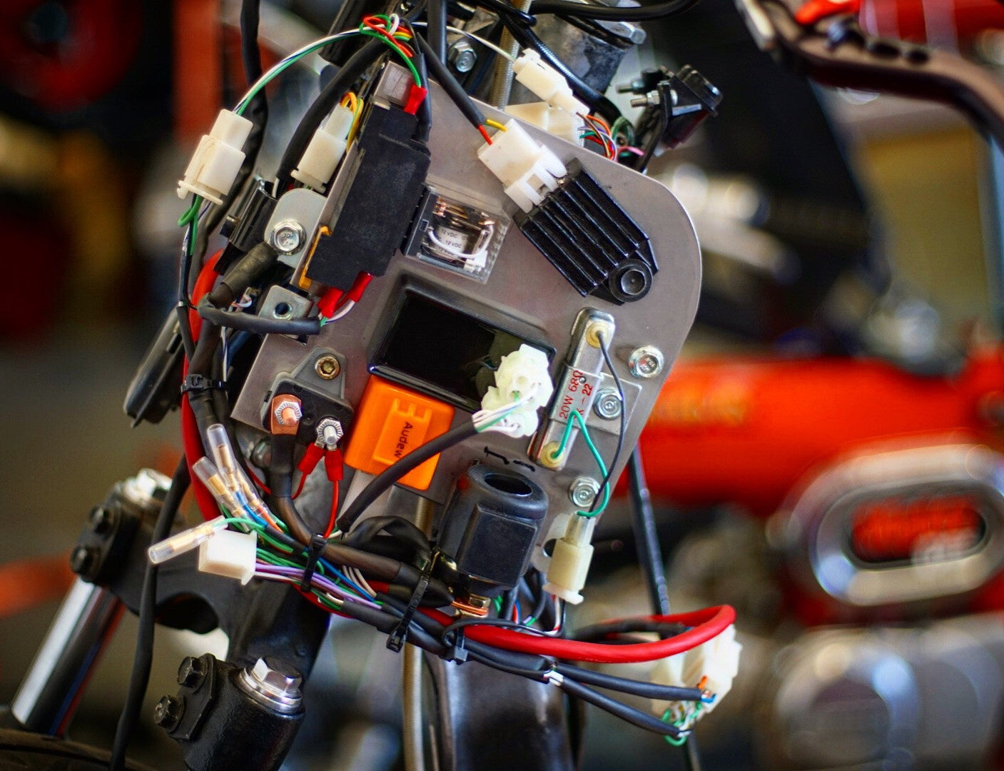 honda ruckus gy6 complete wiring harness – rolling wrench  rolling wrench