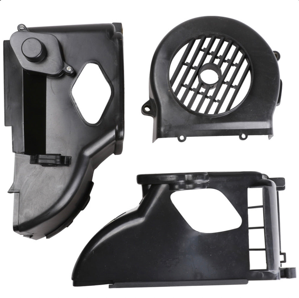 GY6 cooling shrouds set