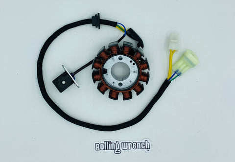 Rolling Wrench Plug and play ruckus stator for GY6