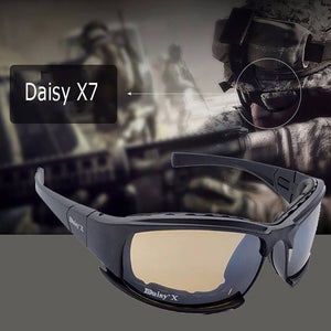 Polarized X7 Tactical Shatter Resistant USA Military Goggles