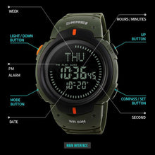 Load image into Gallery viewer, THE SURVIVALIST WATCH