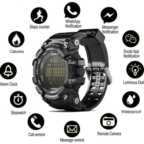 Waterproof Tactical Smartwatch Android/IPhone