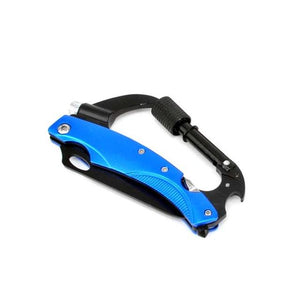 7 IN 1 MULTI-FUNCTION EDC CARABINER TOOL 2.0