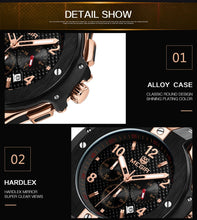 Load image into Gallery viewer, Gold Ambossador Watch