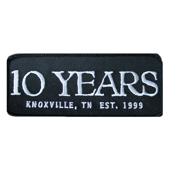 10 Years Patch