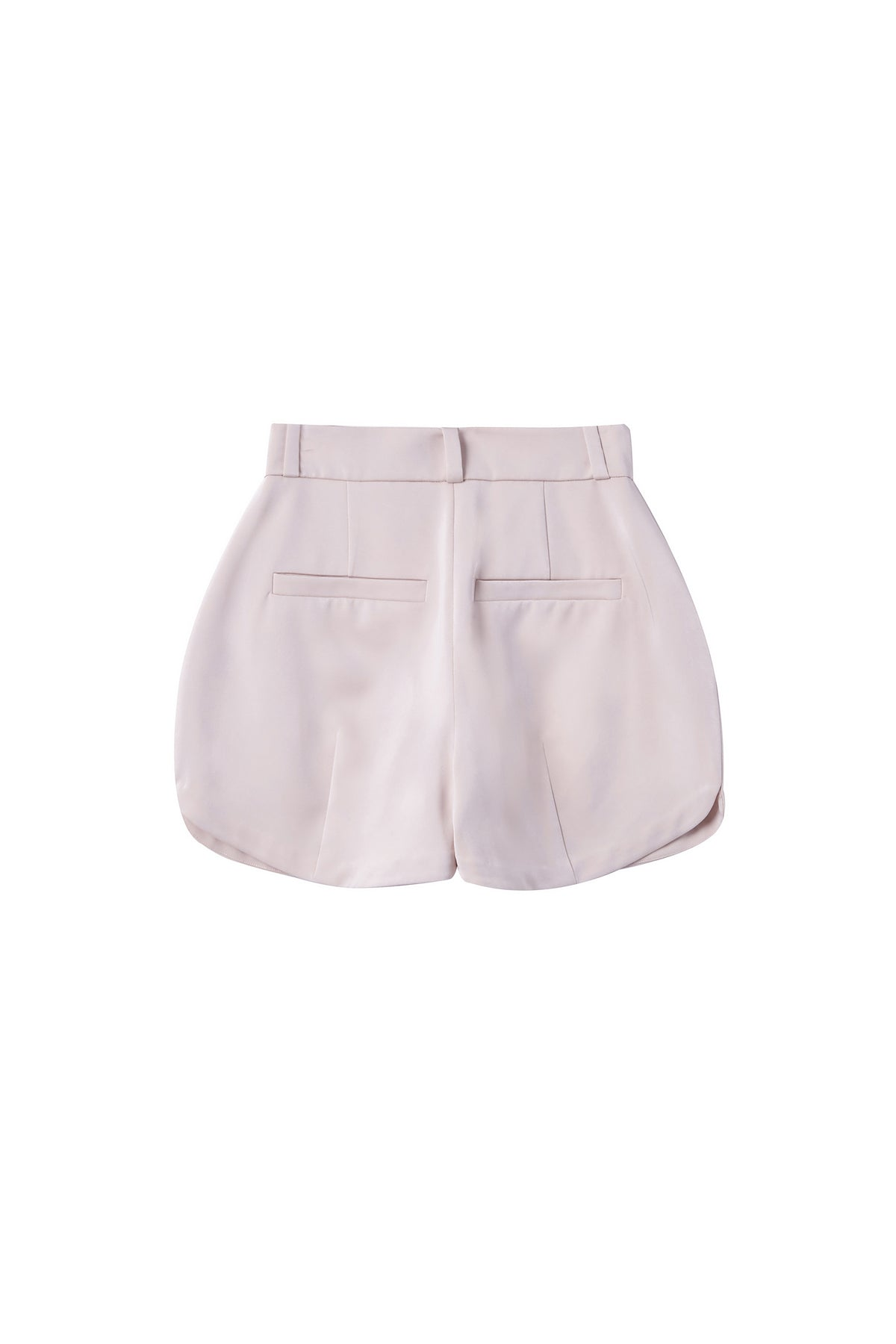 Tulipa Bulbs Shorts in Nude