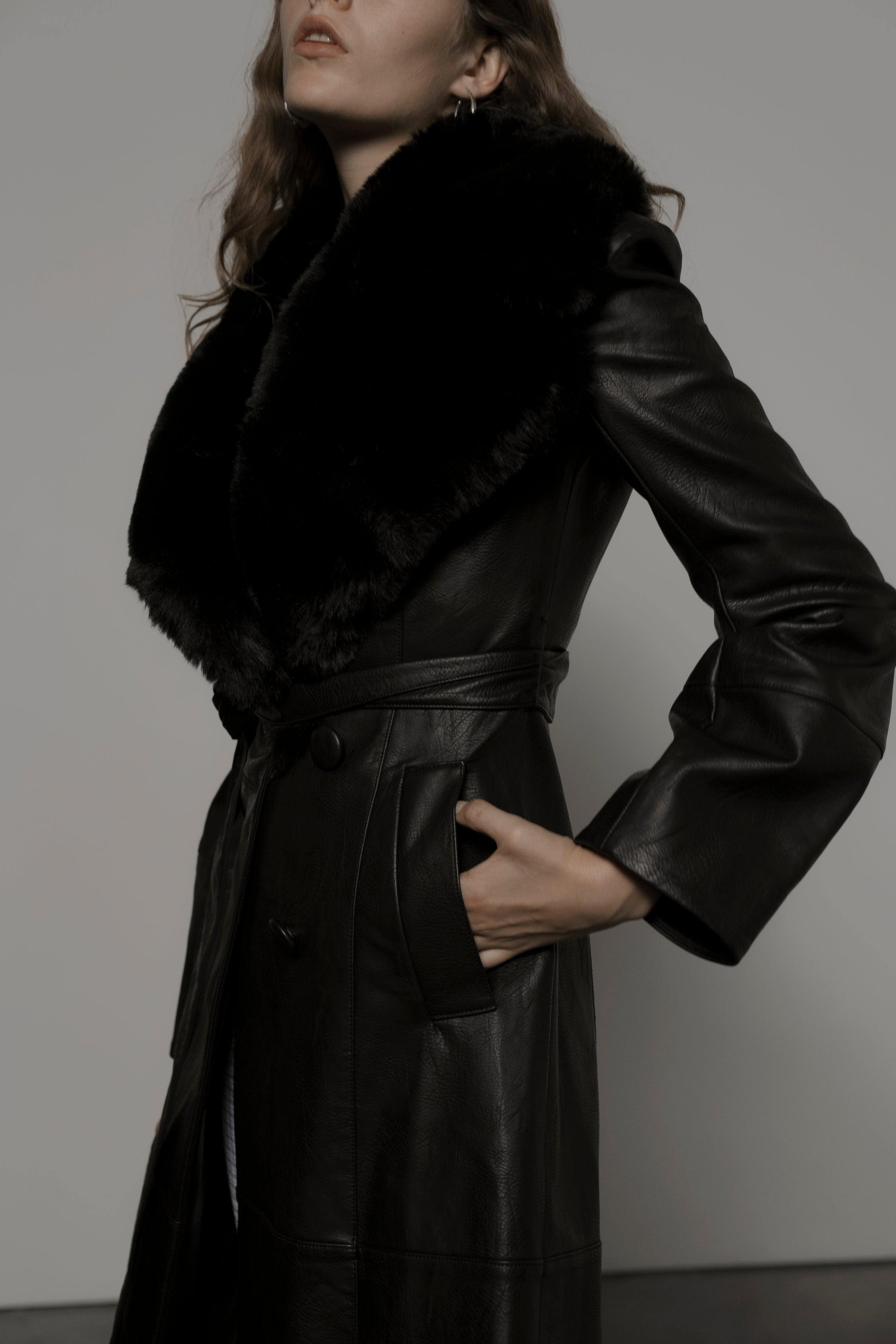 Ara Leather-free Trench Coat