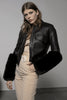 Eartha Leather-free Biker Jacket