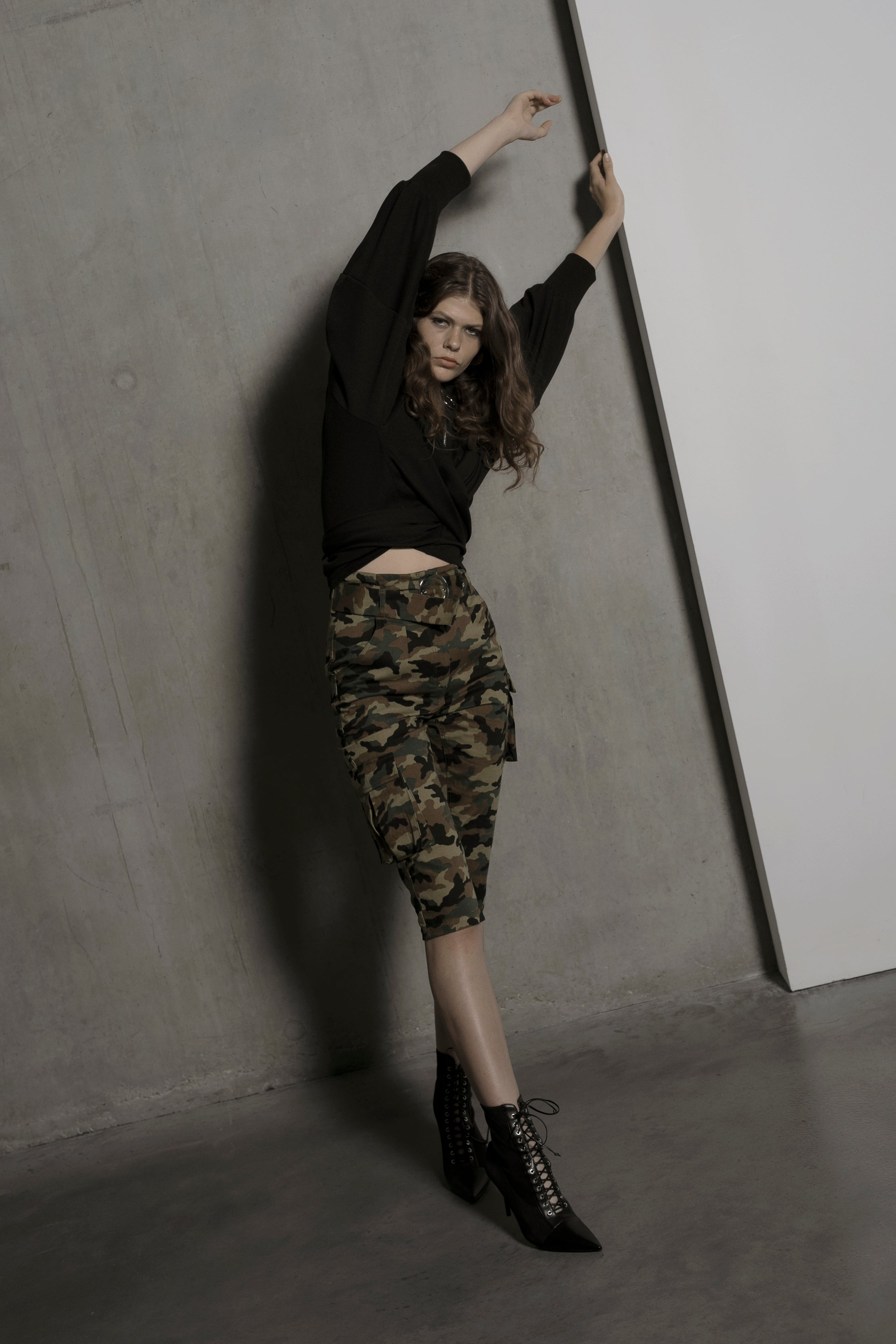 Ali military camouflage trousers