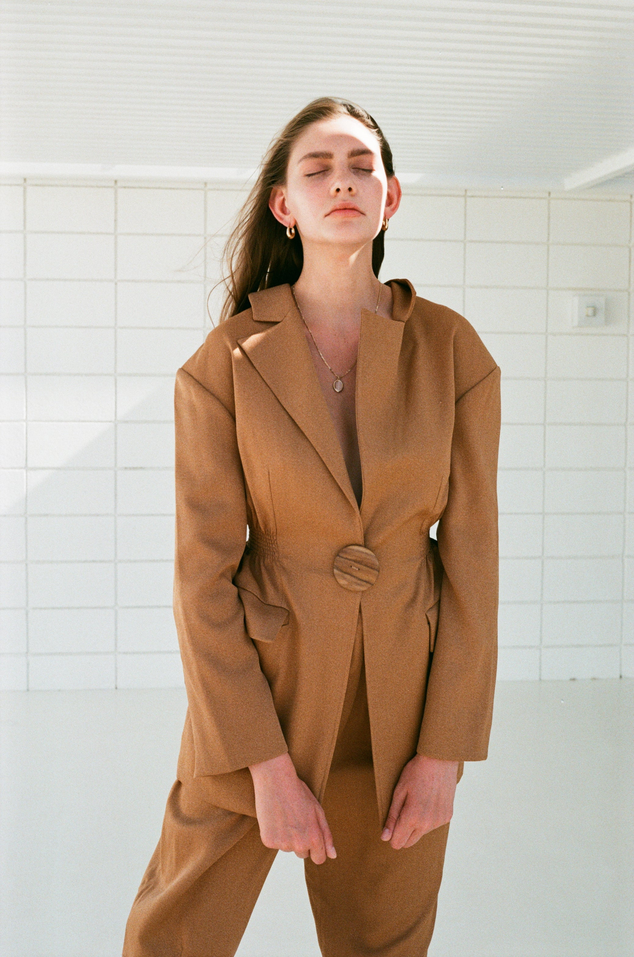 Peanut Pina Suit Jacket