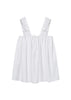 Bloom Doll Dress in White Cotton