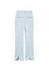Tulipa Petal Hem Trousers in baby blue