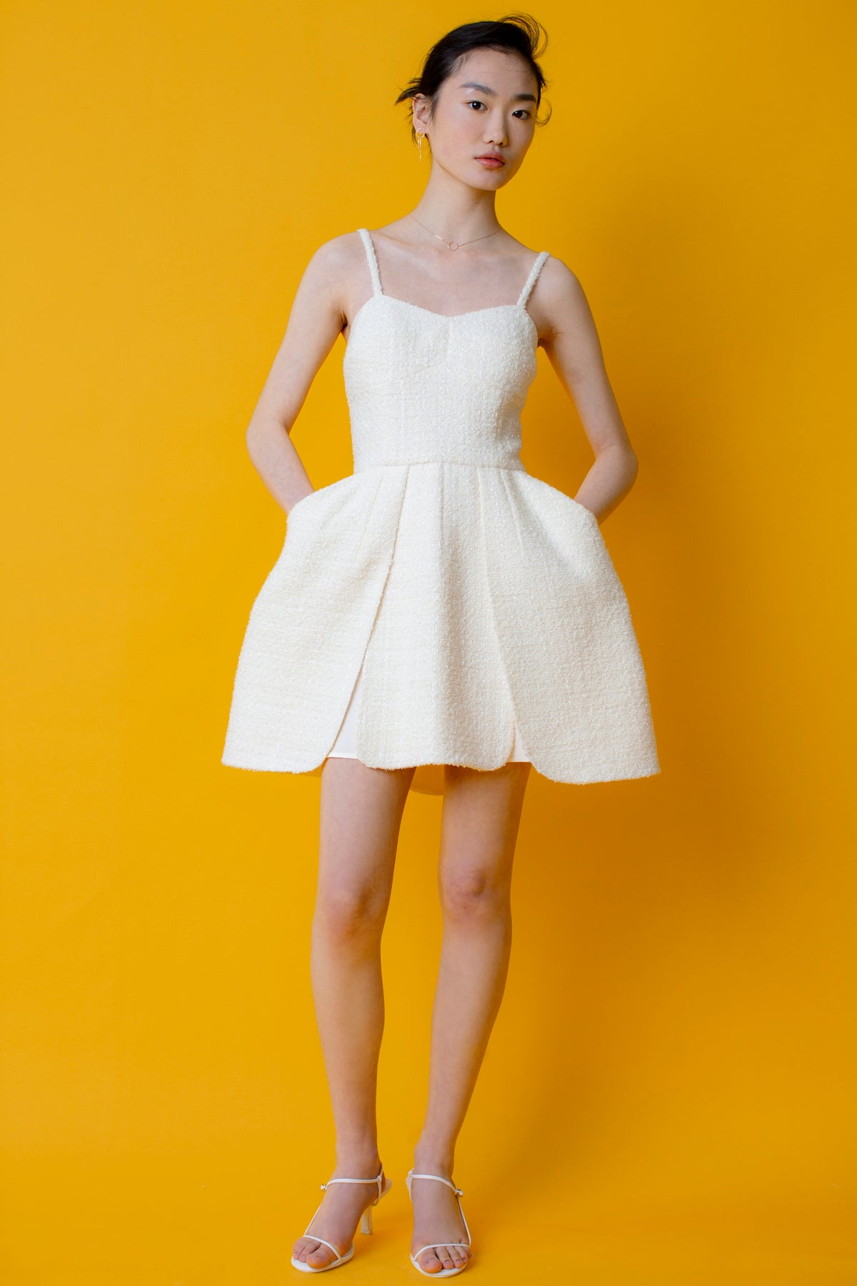 Tulipa Snow Tweed Dress