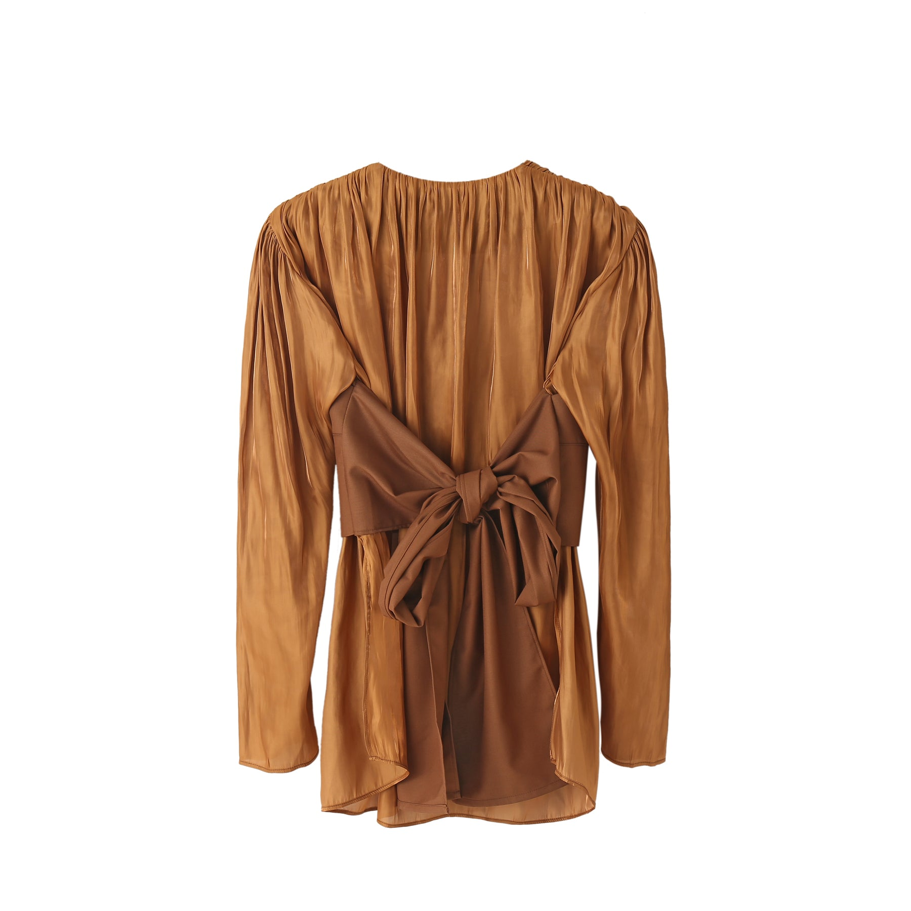 Winifred Corset Top in Copper
