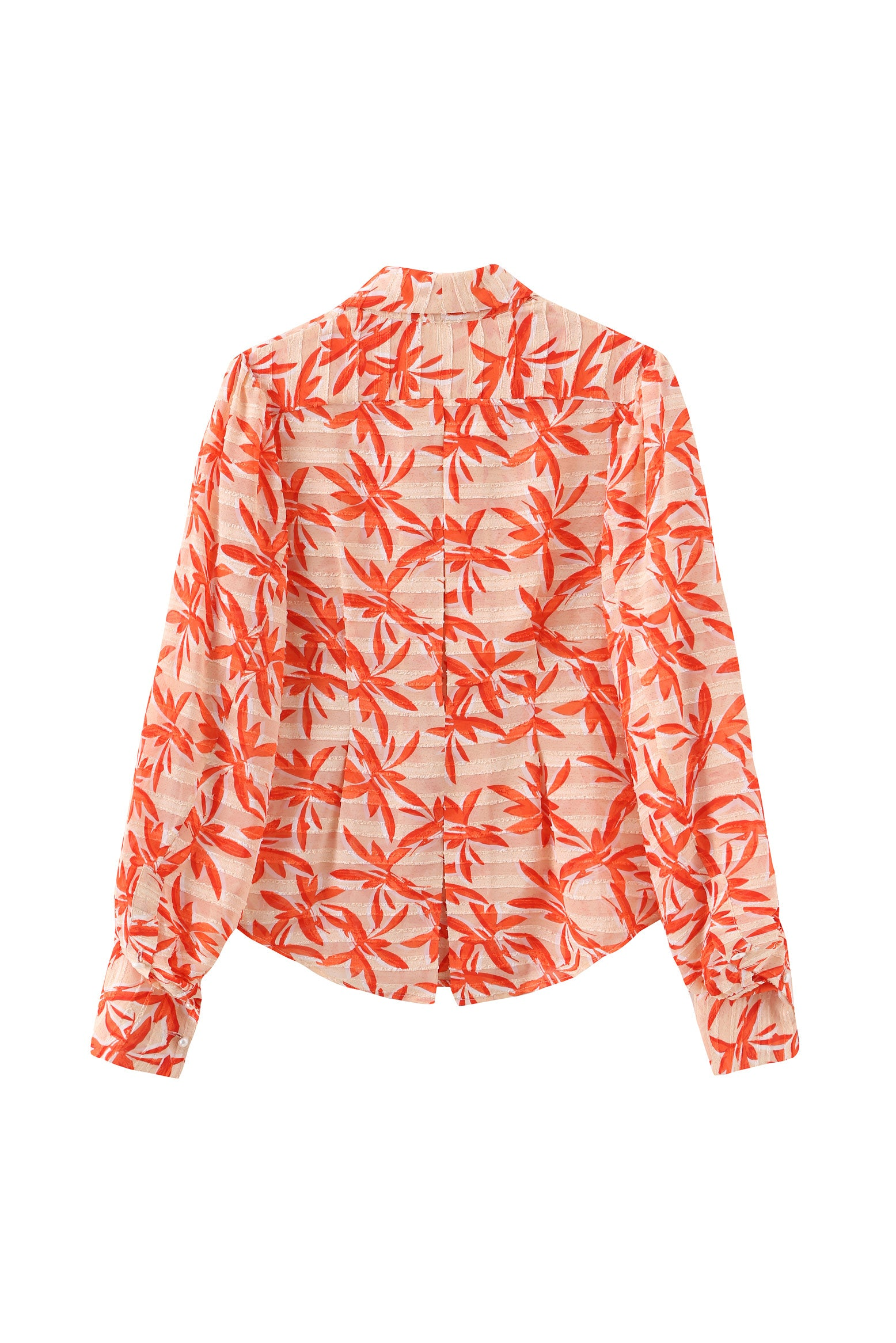 Bianca Blouse in Orange print