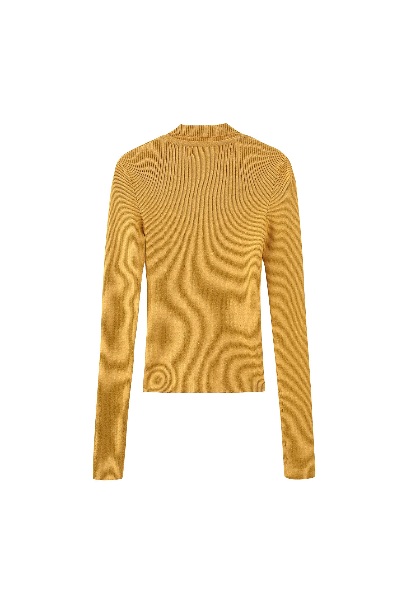 Elisa Knitted Top in Mustard