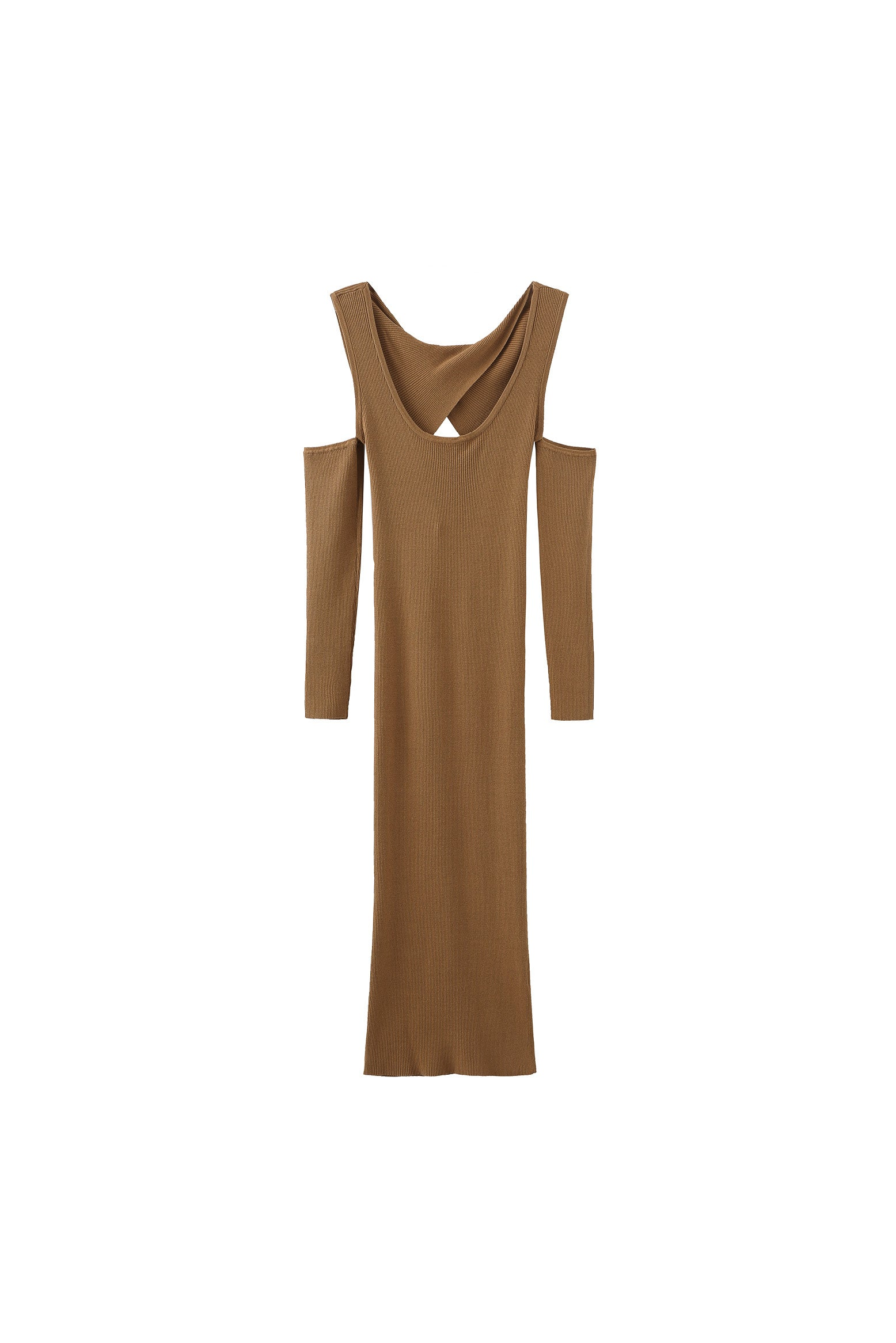Grace U-neck Knitted Dress
