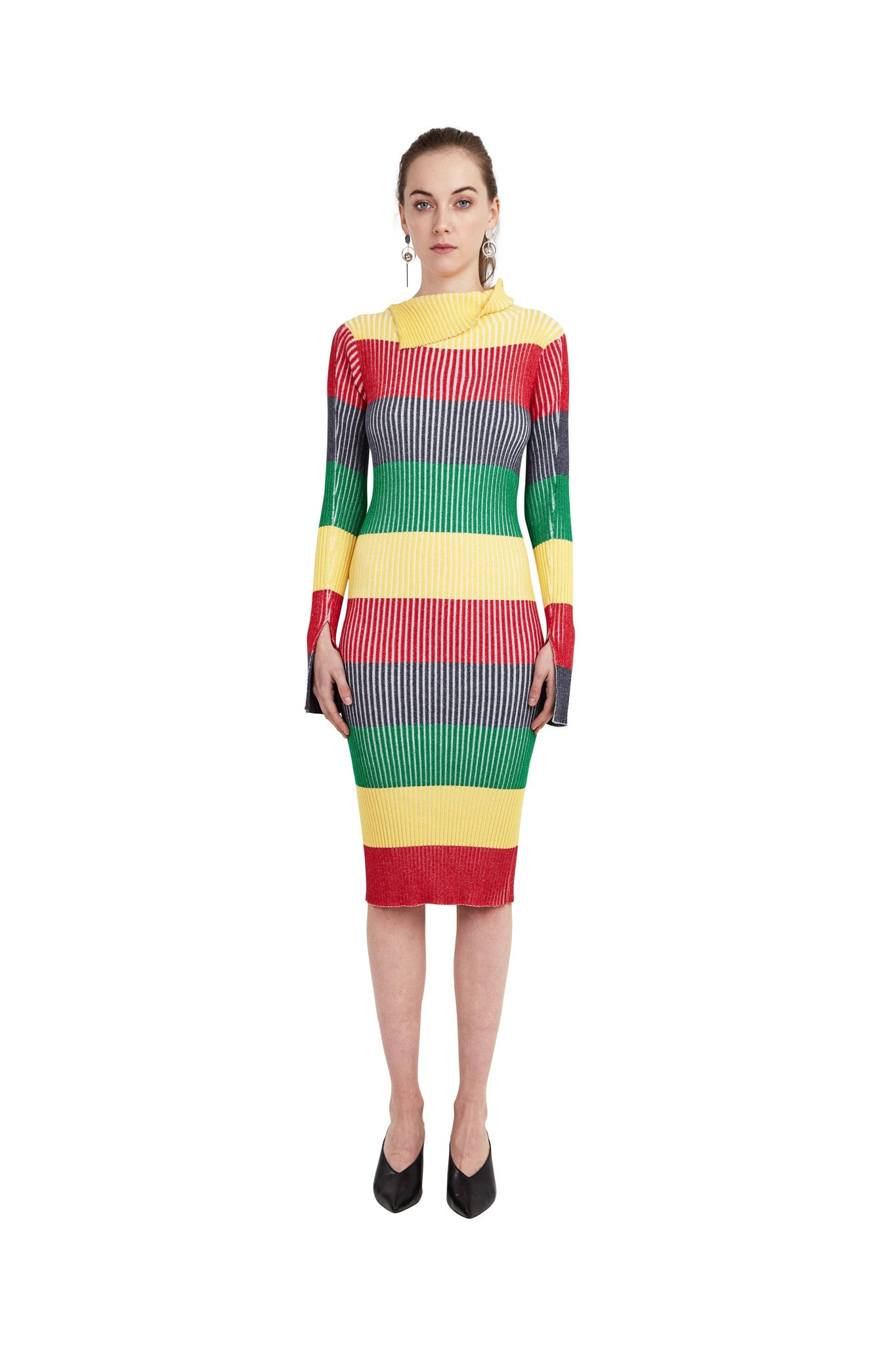 Rainbow Knit Dress