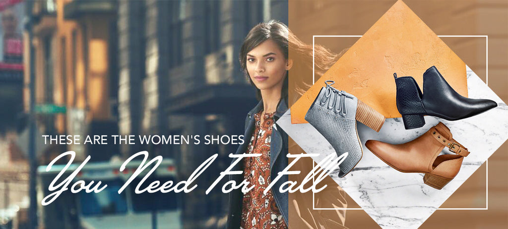 woman and womens shoe styles for fall