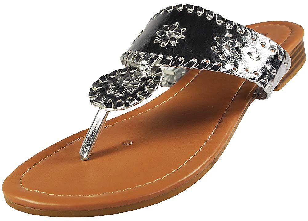 Pierre Dumas Women's Rosetta-1 Slip-on Sandals