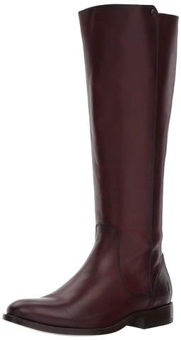 FRYE Women's Melissa Stud Back Zip Riding Boot