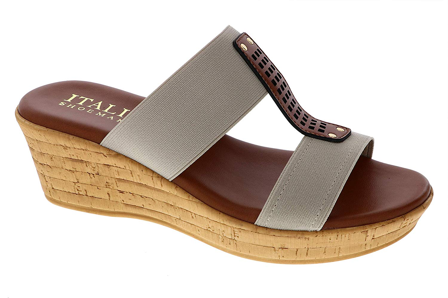 ITALIAN Shoemakers Women's Bello Wedge Sandal