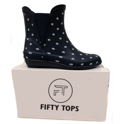 Fifty Tops Women's Rain Boot