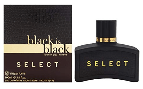 BLACK IS BLACK SELECT by Nu Parfums EDT 3.4 OZ SP Men - South Beach Perfumes