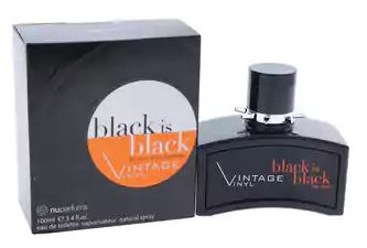 Black is Black Vintage Vinyl - South Beach Perfumes