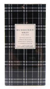 BURBERRY BRIT by Burberry 3.3 OZ SP AFTER SHAVE - South Beach Perfumes