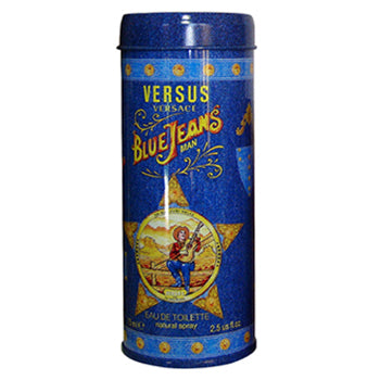 BLUE JEANS by Gianni Versace EDT 2.5 OZ SP MEN - South Beach Perfumes