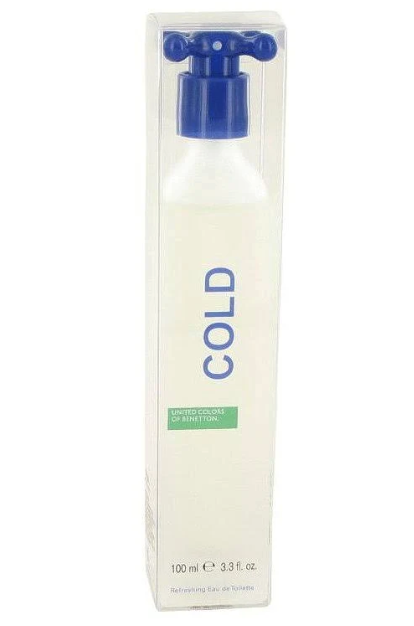 COLD by Benetton EDT 3.3 OZ SP Men - South Beach Perfumes