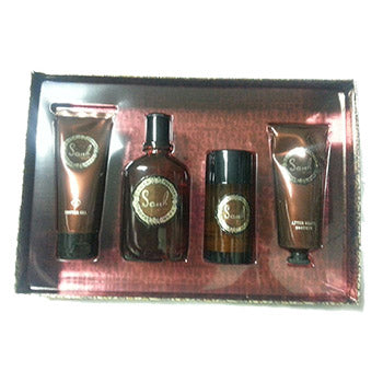CURVE SOUL by Liz Claiborne Men's Gift Set 4 PC - SouthBeachPerfumes