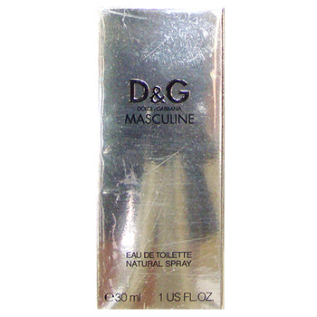 D&G MASCULINE by Dolce & Gabbana EDT 1 OZ SP MEN - SouthBeachPerfumes