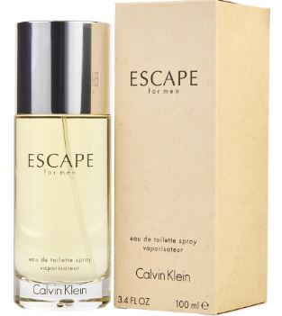 ESCAPE by Calvin Klein EDT 3.4 OZ SP MEN - South Beach Perfumes