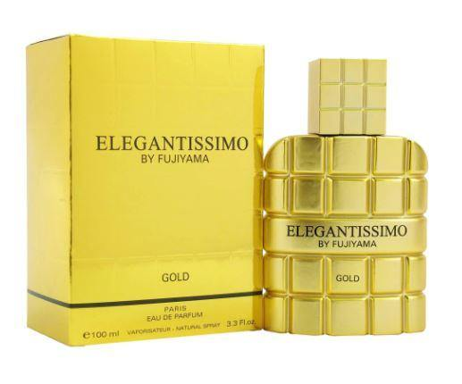 FUJIYAMA ELEGANTISSIMO GOLD by Succes De Paris EDP 3.3 OZ SP MEN - South Beach Perfumes